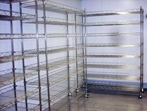 家具行业不锈钢货架