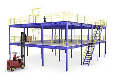 钢构平台货架(2)