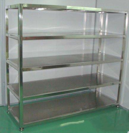不锈钢货架  304不锈钢层架  厨房不锈钢架