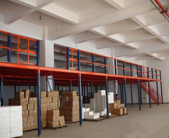 阁楼平台货架,夹层货架,仓库货架
