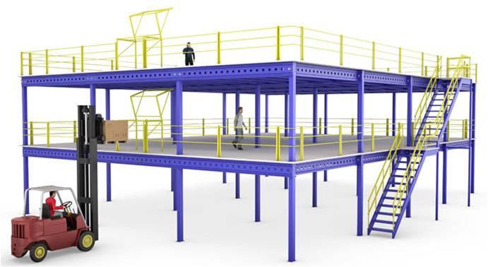 钢构平台货架