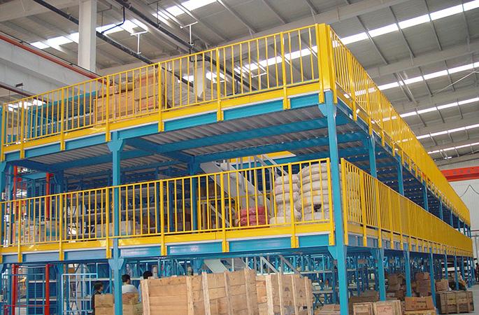 钢构平台货架  重型仓储货架