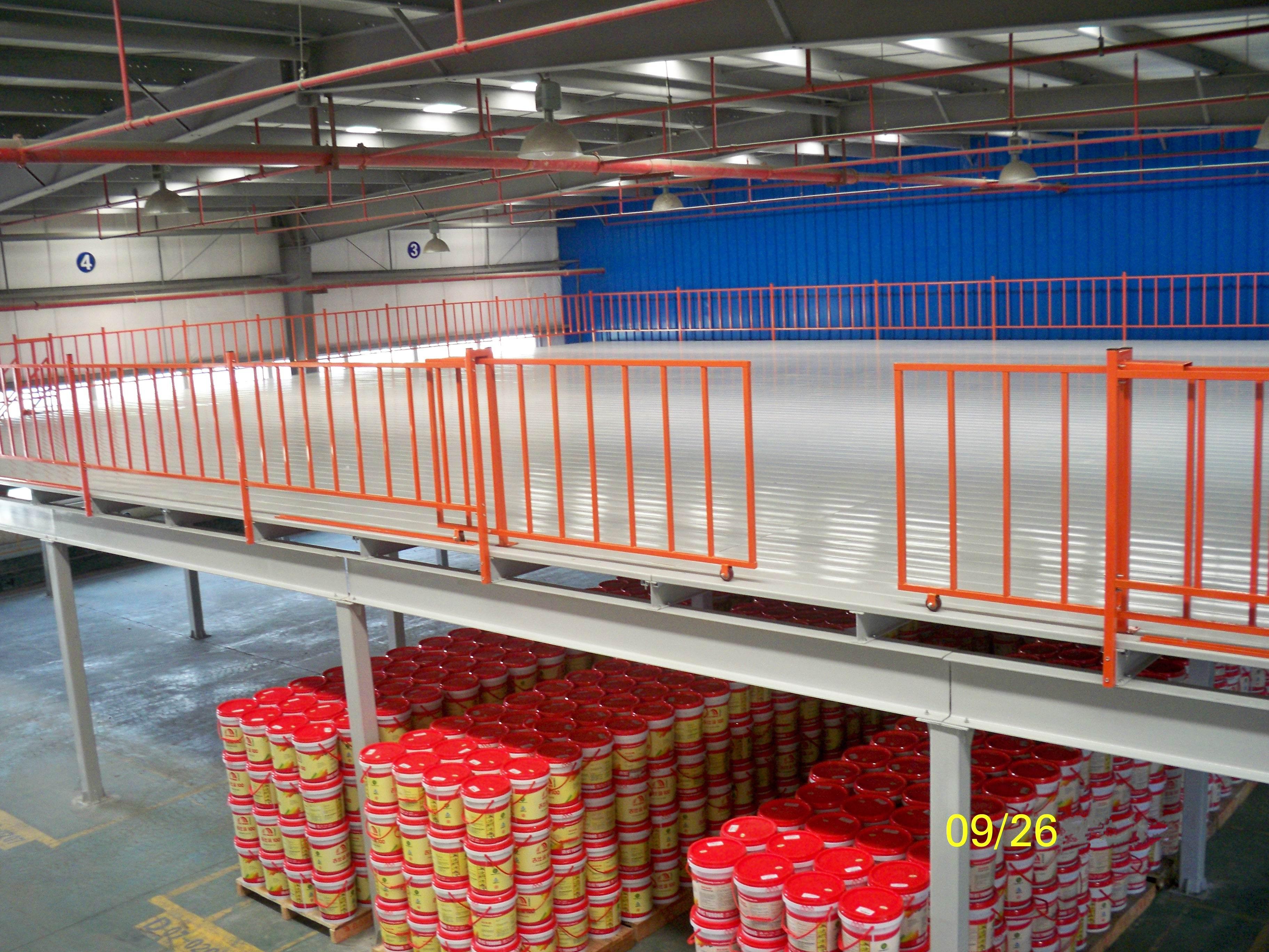 钢构平台货架生产厂家