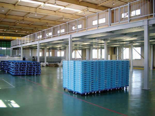 钢构重型仓库平台货架