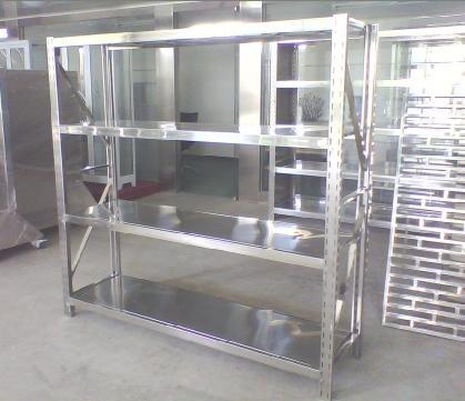 不锈钢厨房架 不锈钢定制货架