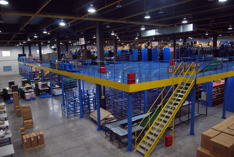 钢结构货架工作平台