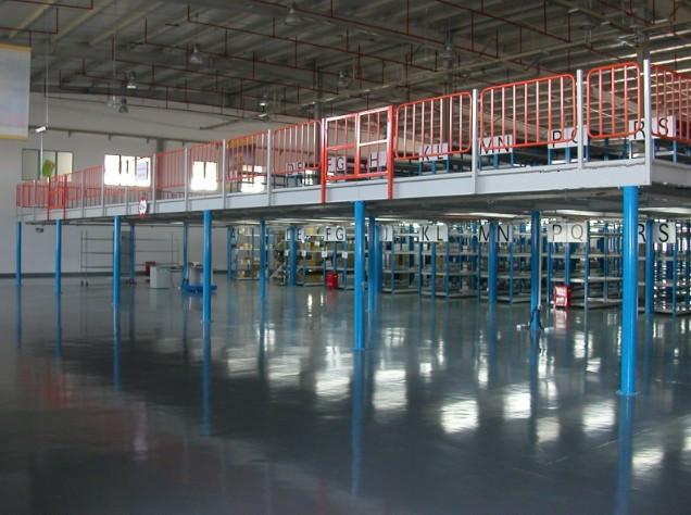 钢结构平台阁楼货架