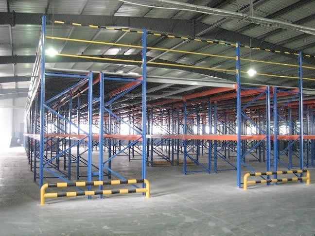 阁楼夹层货架 平台货架生产