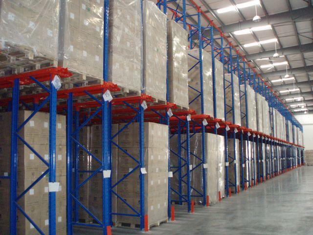 贯通式通廊货架  仓库通廊货架