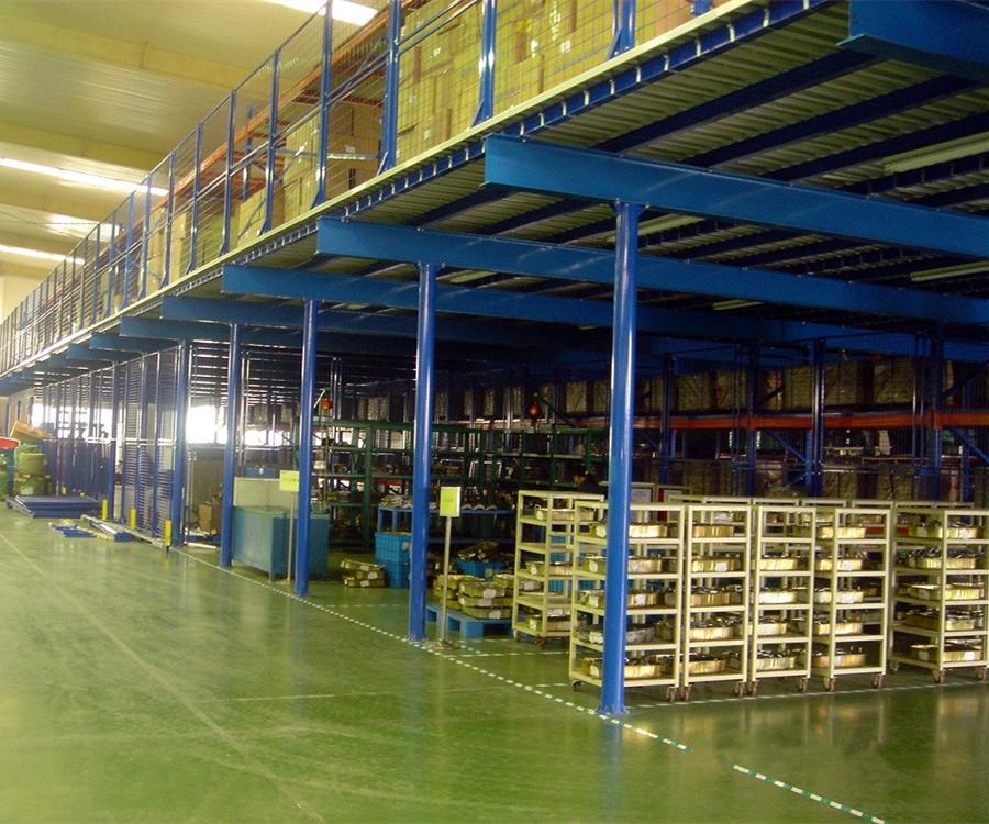 重型钢构平台货架