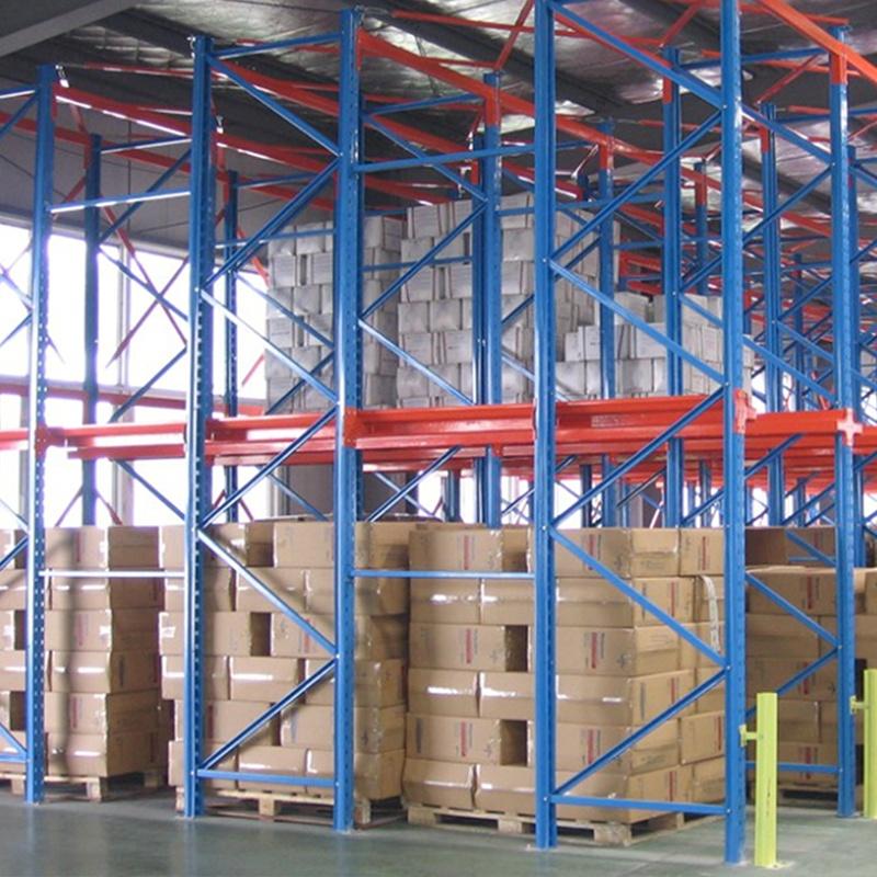 广东贯通式重型货架   通廊货架