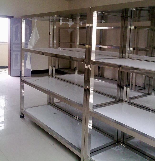 大院校药柜组装式304/201不锈钢货架