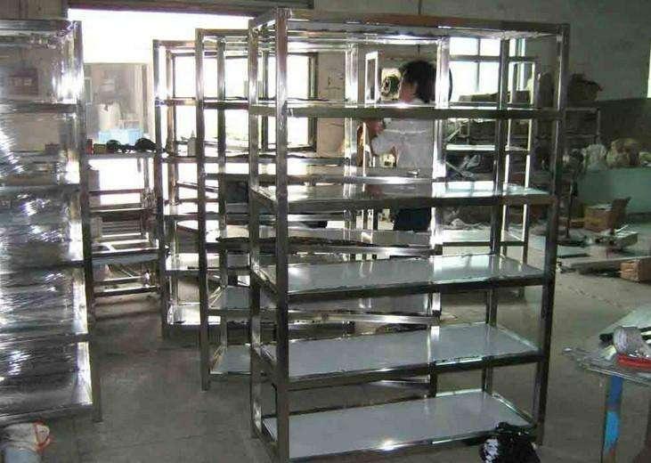 GMP生物制药GMP车间304不锈钢中型货架