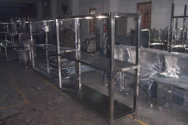 广东食品冷库304不锈钢货架  201不锈钢货架