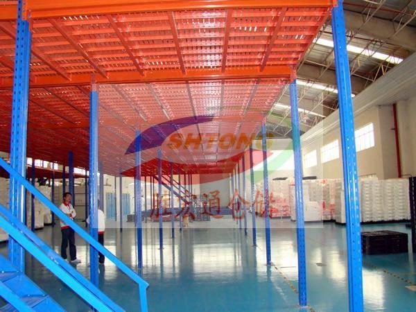 电商平台货架专业定制生产  阁楼平台