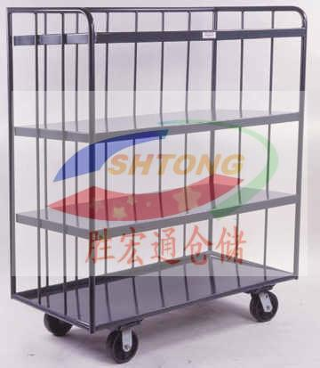 物流网笼车  载货物流网笼车质量保证 物流台车咨询胜宏通13420065223