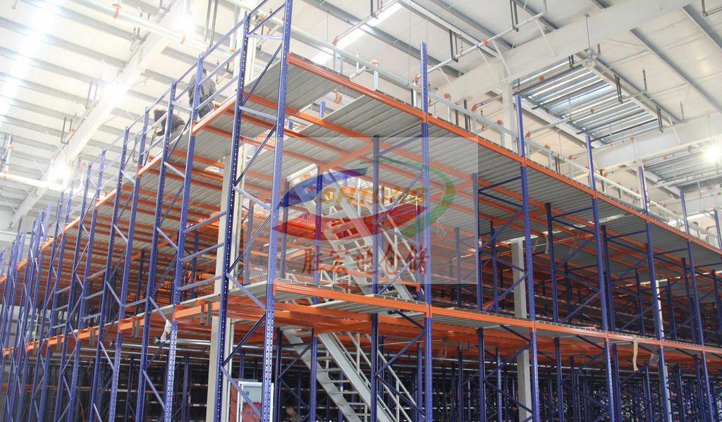 家电厂仓库阁楼平台货架,胜宏通免费规划设计专业生产定制热线13420065223
