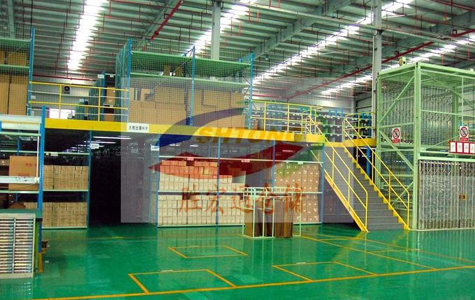 广东阁楼平台货架定制厂家 仓储平台货架生产