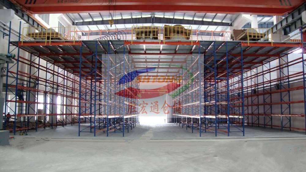 大型仓库阁楼平台免费规划定制  仓储货架平台生产13420065223