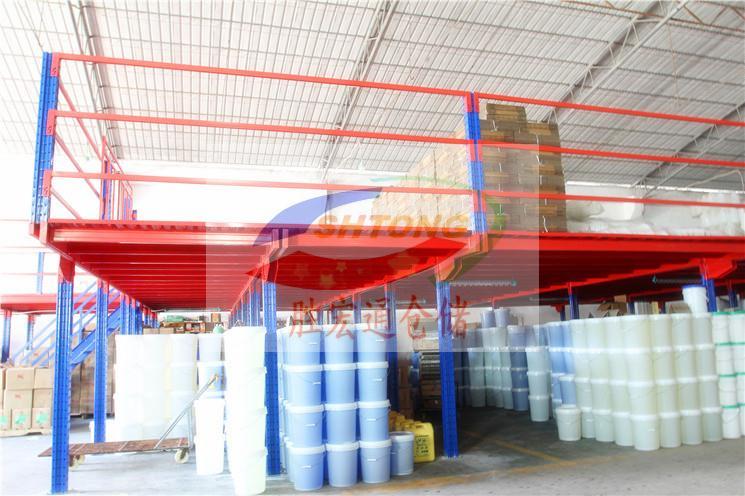 仓库阁楼平台生产规划定制  仓储货架生产13420065223